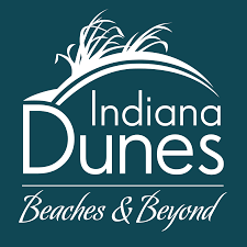 Indiana travel logos images Official indiana dunes travel guide png