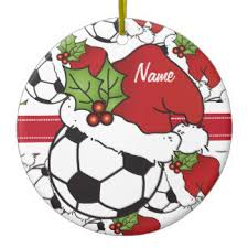 Blank Ornaments To Personalize Soccer Ornaments U0026 Keepsake Ornaments Zazzle