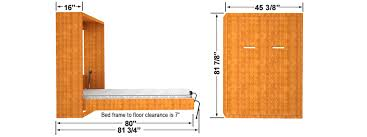 full size murphy bed cabinet dimensions for easy diy wall bed cabinet in queen double and twin