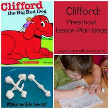 with clifford preschool lesson plan ideas math plans