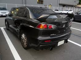 mitsubishi lancer modified file mitsubishi lancer evolution x gsr cz4a rear jpg wikimedia