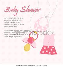 baby shower cards baby shower cards for a girl 4668