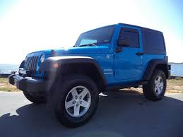 lifted jeep blue jeep wrangler lifted in mississippi for sale used cars on