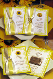 chagne wedding favors sunflower wedding seed packet favors scraps cards