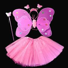 kids beautiful angel fairy butterfly wings fancy dress party