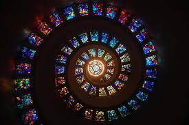 free images snappygoat bestof stained glass spiral window