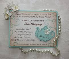 bridal tea party invitation how to design tea party invitations a must read