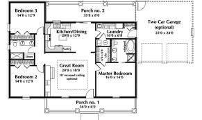 20 Stunning House Plan For 20 Stunning One Level Ranch Style House Plans Home Plans