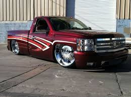 buy used 2007 chevrolet silverado custom candy paint 30