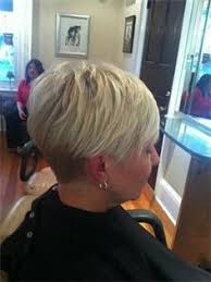 wedge haircut with stacked back love the back view of this cut short hairstyle pinterest