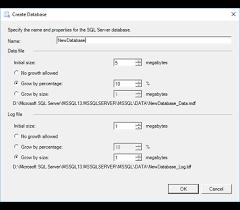 membuat database baru di sql server create database sql server import and export wizard microsoft docs
