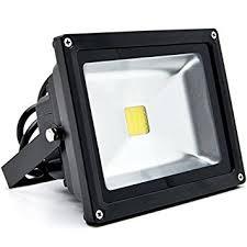 biltek 20w led flood light cool white high power outdoor spotlights