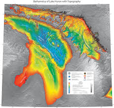 Elevation Map Of Michigan by Ancient Hunting Camp Found Beneath Lake Huron Nat Geo Education Blog