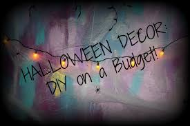 How To Make Halloween Decorations At Home by Halloween Decor Diy On A Budget Youtube