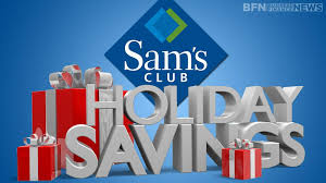 searchaio sam u0027s club holiday specials