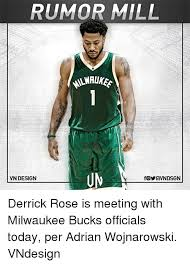 Derrick Rose Jersey Meme - rumor mill vn design derrick rose is meeting with milwaukee bucks