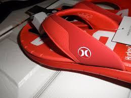 hurley nike phantom free usa olympic men u0027s sandals flip flops red
