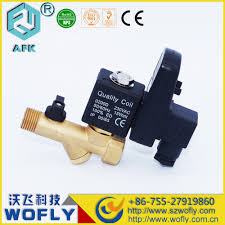 list manufacturers of compressor electric drain valve buy