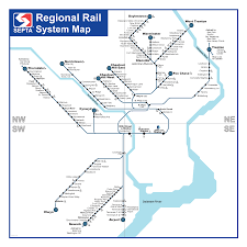 Septa Bus Map Septa Regional Rail Service Improvement Program
