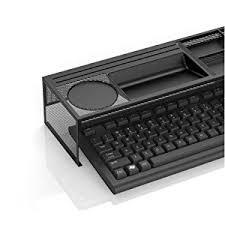 Metal Desk Organizer Mind Reader Desk Supplies Organizer With Charging
