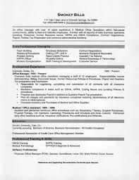 sample resume for medical office manager experience resumes