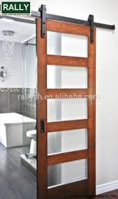 Antique Style Used Wood Panel Sliding Barn Doors Top Sliding Wood