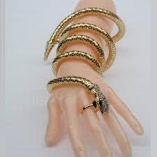 Personalized Bangle Bracelet Fashion Cuff Bangle Women Armband Retro Snake Bracelet Vintage