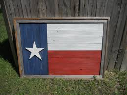 Rustic Texas Home Decor Large Rustic Wood Texas Flag Distressed Reclaimed Wood Wall