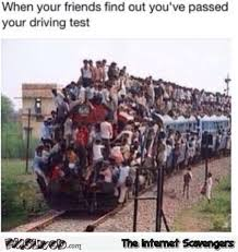 Funny Memes About Driving - when your friends find out you ve passed your driving test funny