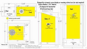 basic bluebird house plans eco house plans