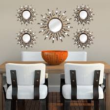 Stratton Home Decor Burst Wall Mirrors Set Of  Artful Walls - Home decorative mirrors