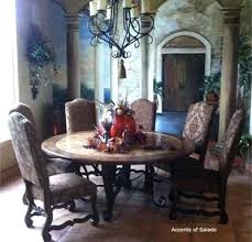 tuscan dining room chairs tuscany dining chairs large round dining room table willis and