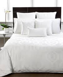 hotel collection bedding modern hexagon white collection