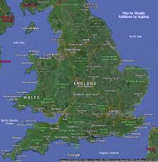 Map Og England Map With Wales Tourist Places Links To Large Pictures