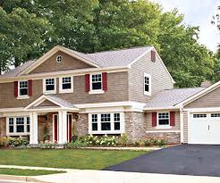 Cottage Curb Appeal - how to add curb appeal with a portico four generations one roof
