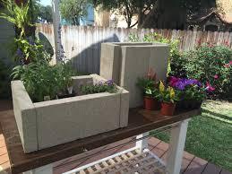 landscape block adhesive concrete planters from 1 00 cinder block caps