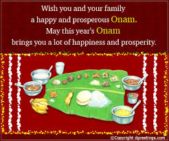 wish you and your family onam cards