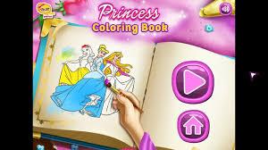 disney princess coloring book video for kid baby videos movie