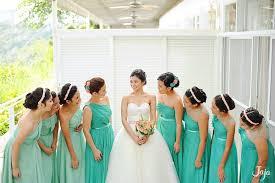 aquamarine bridesmaid dresses i a pretty wedding wedding wedding and blush