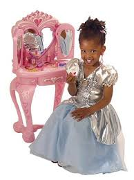 Disney Princess Keyboard Vanity Toys Stools