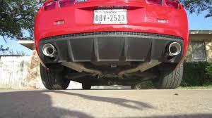 2010 camaro borla exhaust 2010 camaro ls3 stock to borla atak cat back exhaust