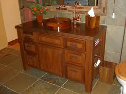 Teak Vanity Bathroom by Handmade Burmese Teak Vanity By Koering Custom Furniture Llc