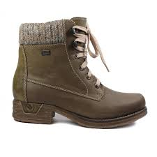 womens green boots uk rieker 79602 54 green womens boot rieker from shoes uk