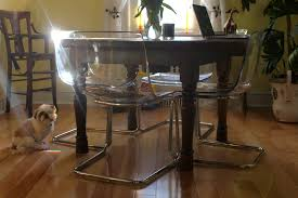 Where To Buy Dining Table And Chairs Ikea Tobias Chairs Good Buy U2013 Ramshackle Glam