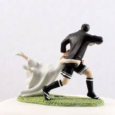 sports cake toppers a match rugby sport cake topper wedding cake toppers