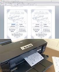 Printing Wedding Invitations Translucent Wedding Invitation Diy With Download U0026 Print Chic