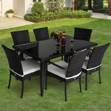 outsunny rattan garden patio furniture sets ebay
