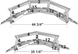 wooden bridge plans decorative bridge plans free download pdf woodworking wooden bridge