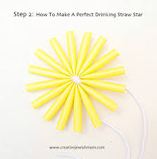 a straw ornament that is anytime creative