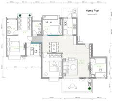 layout of house building plan software edraw